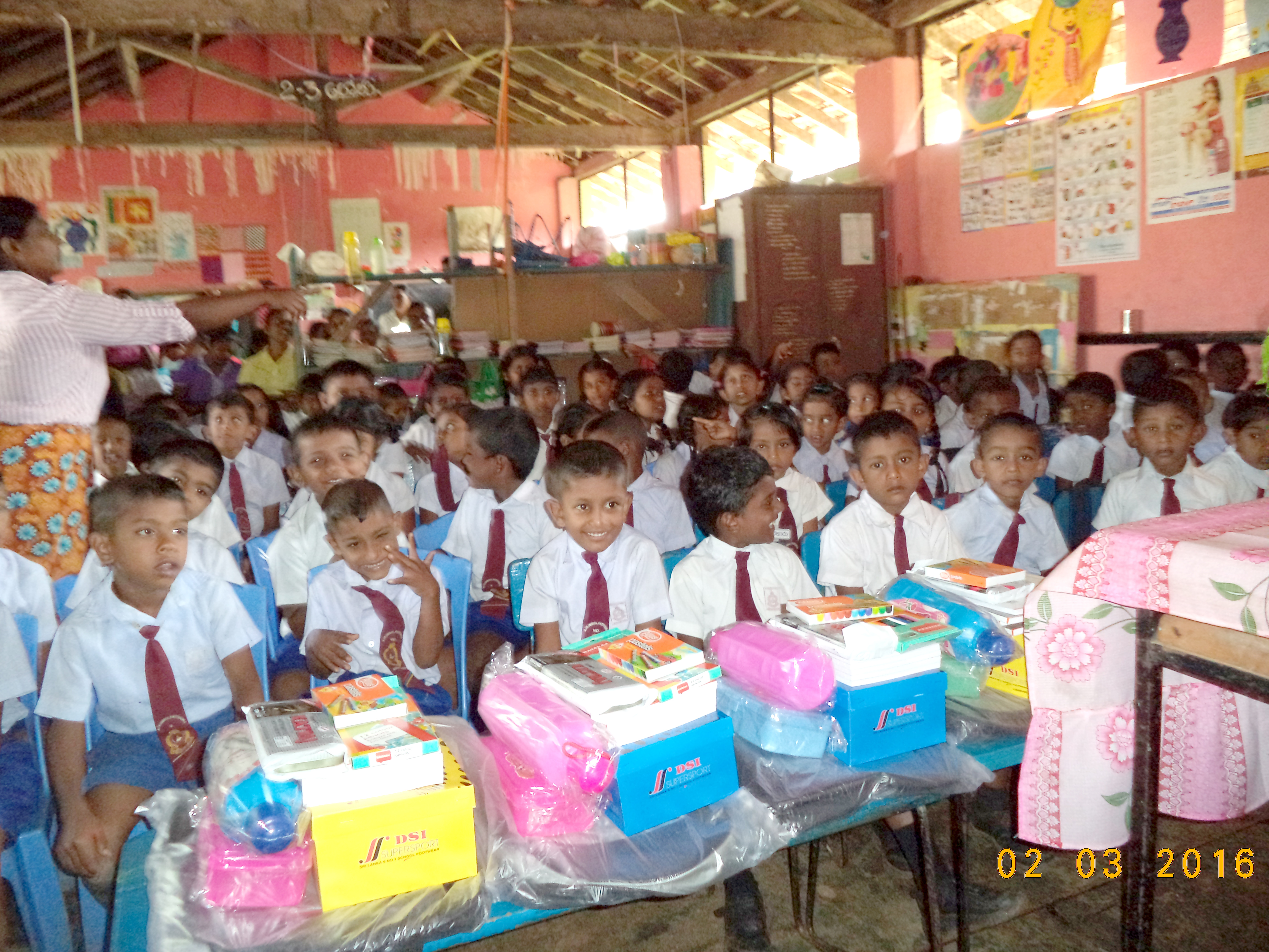 Supporting Schools In Sri Lanka Almayuda House Wiring Occasionally Finances Roof Repair Works Refurbishes Classrooms Renews Electrical